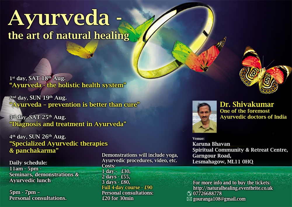 "Course ""Ayurveda – the Art of Natural Healing"" thumbnail"