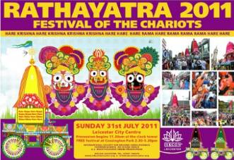 Hare Krishna Festival of Chariots attracts thousands to Leicester city centre thumbnail