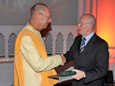 Sivarama Swami awarded the Gold Cross thumbnail